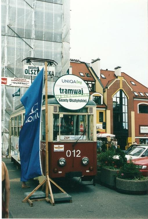 Tramwaj pod Wysoką Bramą (lato 2003)