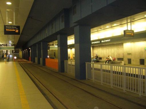 Przystanek Dworzec Główny Tunel w Krakowie