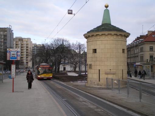 Przystanek tramwajowo-autobusowy przy Grubej Kaśce