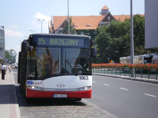 Solaris Urbino 18 pod Sądami
