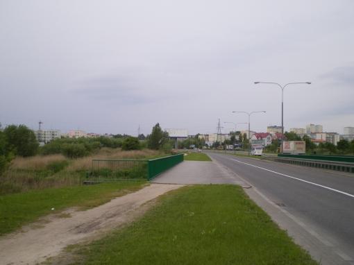 Most na Łynie w alei Obrońców Tobruku