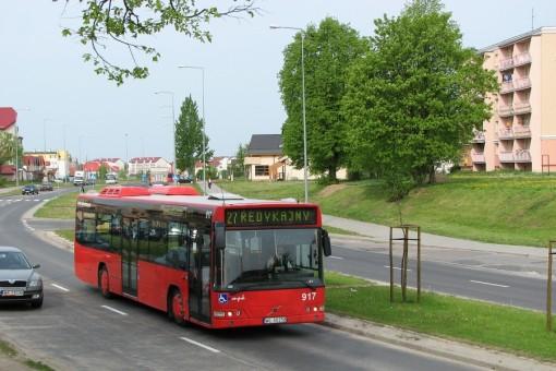 Volvo 7000 na ulicy Witosa