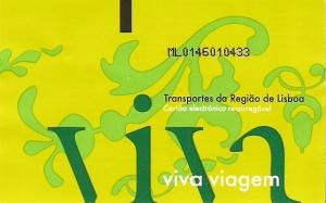 Lizbońska karta Viva Viagem
