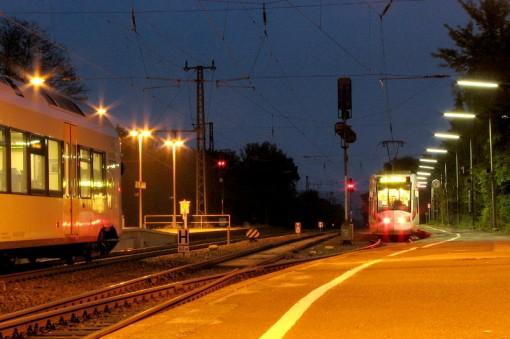 Alstom Regio Citadis na dworcu kolejowym w Warburgu