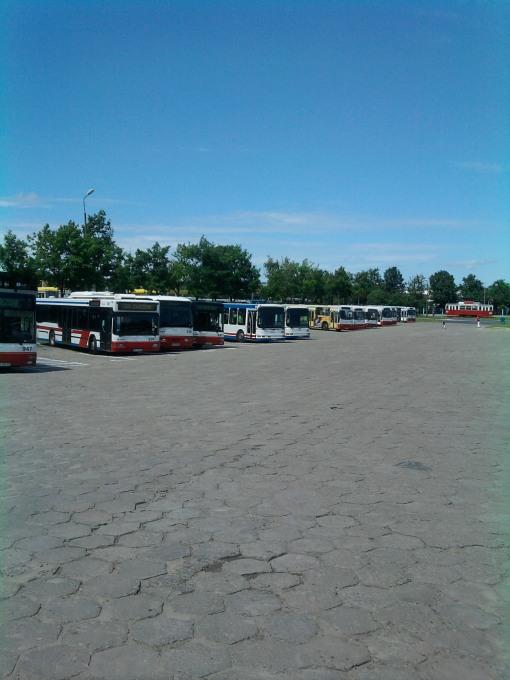 Zajezdnia autobusowa MPK Olsztyn przy Kołobrzeskiej - miejsce pod halę tramwajową