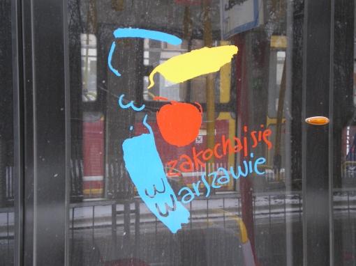 Logo Warszawy na Pesie Swing