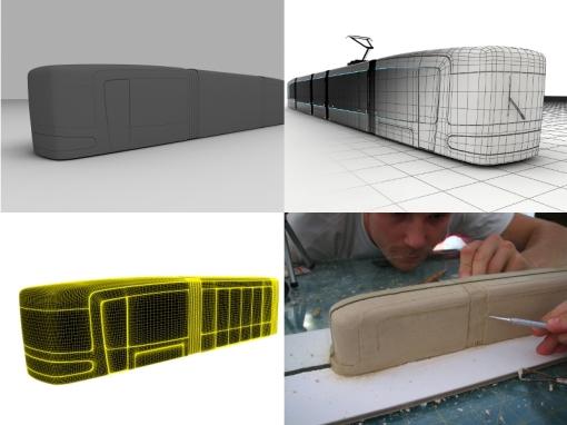 Modelowanie tramwaju Tryton