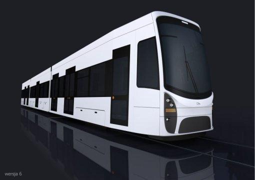 Wizualizacja tramwaju Pesy dla Częstochowy