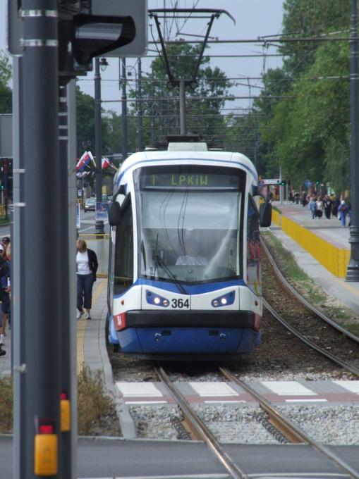 Pesa 122N na Gdańskiej w Bydgoszczy
