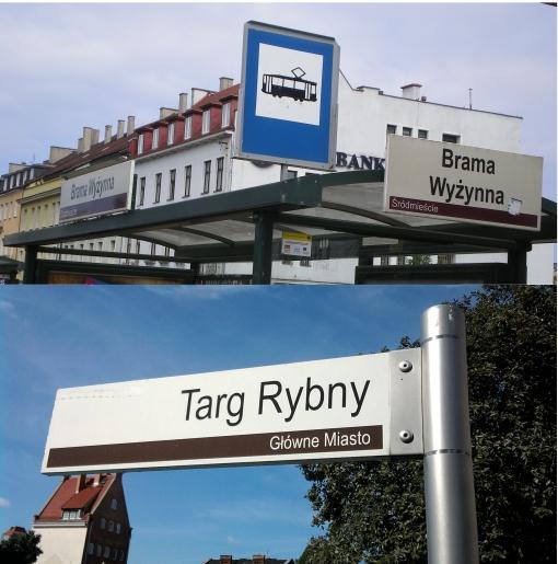 Przystanek jako element systemu informacji miejskiej w Gdańsku