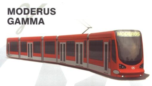 Wizualizacja Moderusa Gamma (2008)