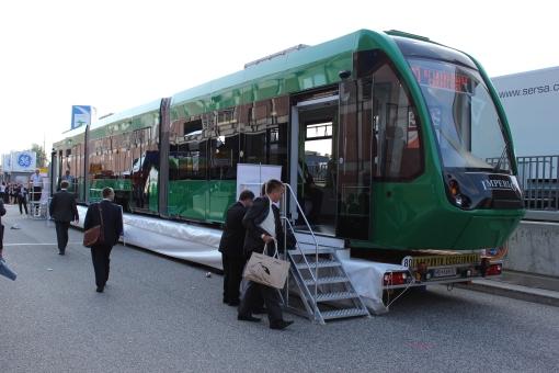 Astra Imperio na targach InnoTrans 2012