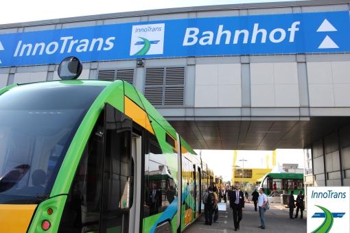 Wejście na tereny wystawowe InnoTrans 2012
