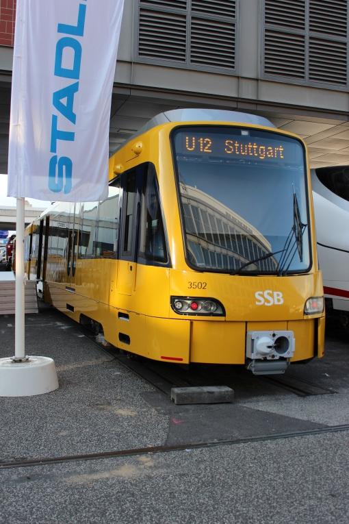 Stadler DT 8.12 Stuttgart na targach InnoTrans 2012