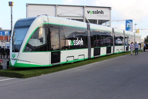Vossloh Kiepe Tramlink dla León na targach InnoTrans 2012