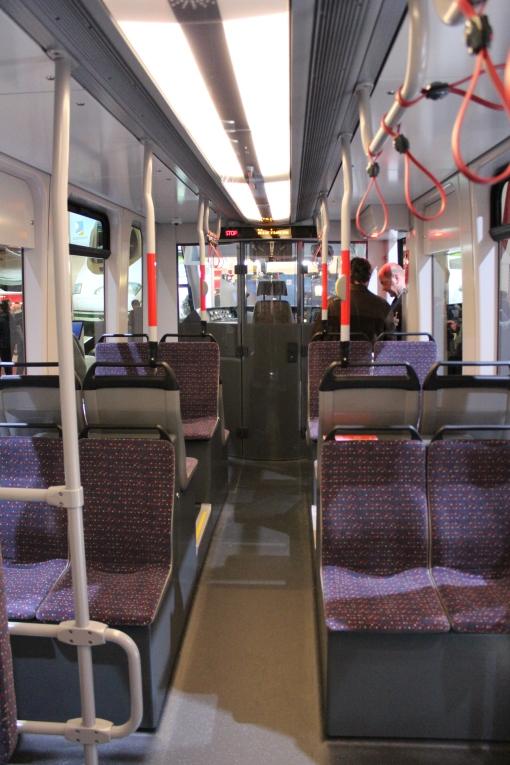 Wnętrze Siemensa Avenio dla Hagi