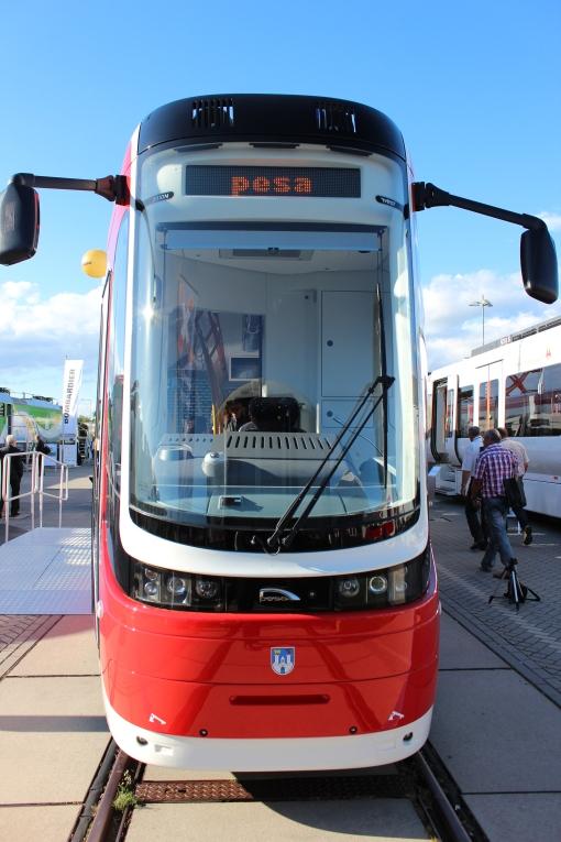 Pesa Twist na targach InnoTrans 2012