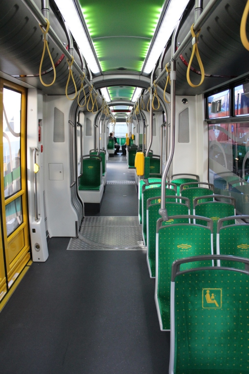 Wnętrze Solarisa Tramino S105P (Tramino Poznań)