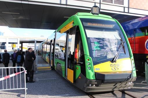 Solaris Tramino S105P (Tramino Poznań) na targach InnoTrans 2012