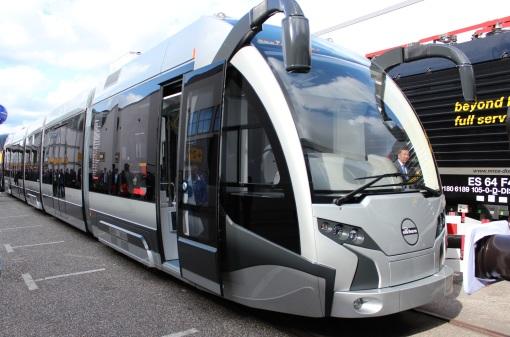Durmazlar SilkWorm na targach InnoTrans 2012