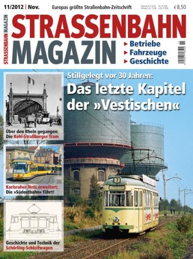 "Okładka ""Strassenbahn Magazin"" z listopada 2012"