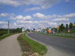 Budowa linii tramwajowej przy ulicy Tuwima (9 czerwca 2013)
