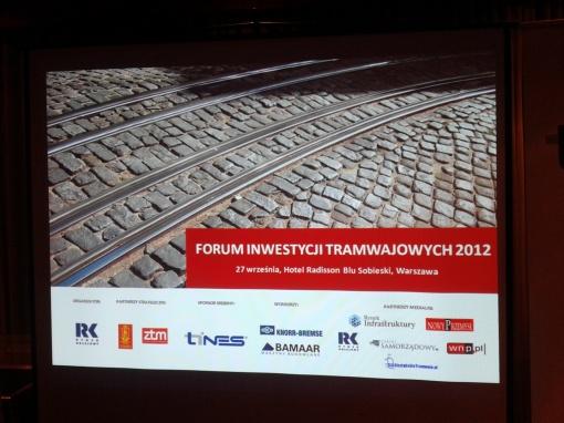 Forum Inwestycji Tramwajowych 2012