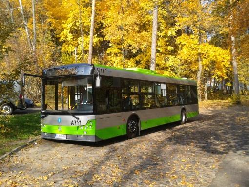 Solbus SM12 na pętli Jakubowo