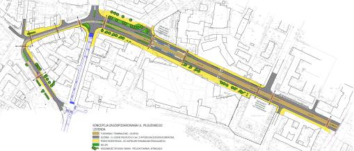Projekt odnogi linii tramwajowej do Wysokiej Bramy (październik 2013)