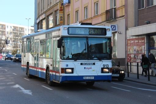 Scania N113 na 11 Listopada