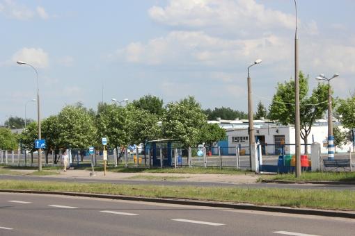 Zajezdnia autobusowa MPK Olsztyn przy Kołobrzeskiej