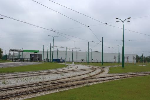 Zajezdnia tramwajowa Franowo w Poznaniu