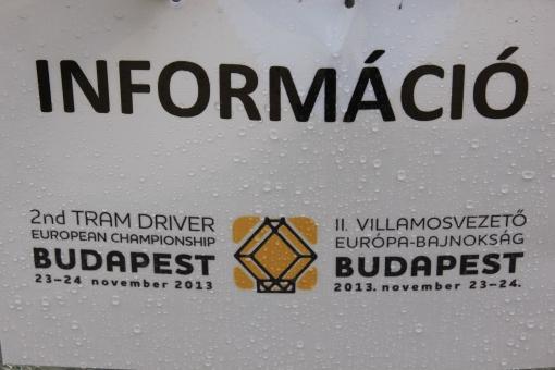 II Mistrzostwa Europy Motorniczych w Budapeszcie (23-24 listopada 2013)