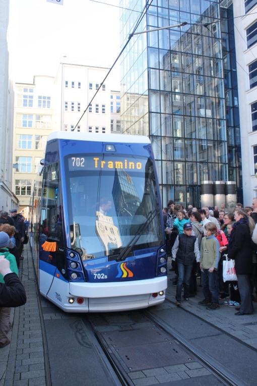 Prezentacja Solarisa Tramino GT6N-ZR Jena w Jenie (9 listopada 2013)