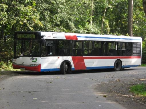 Solaris Urbino 12 na pętli Osiedle Podleśna (dawniej Fabryka Mebli)