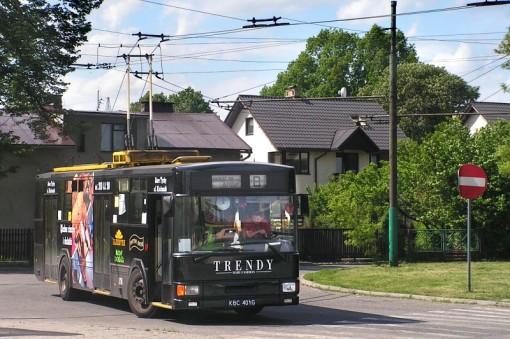 Trolejbus Jelcz 120MT w Tychach
