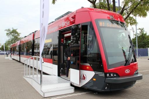 Solaris Tramino Brunszwik na targach InnoTrans 2014 w Berlinie