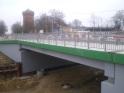 Budowa ulicy Obiegowej i biegnącej przy niej linii tramwajowej - wiadukt ulicy Żołnierskiej (16 listopada 2014)