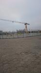Budowa zajezdni tramwajowej przy ulicy Towarowej i Kołobrzeskiej (1 grudnia 2014)