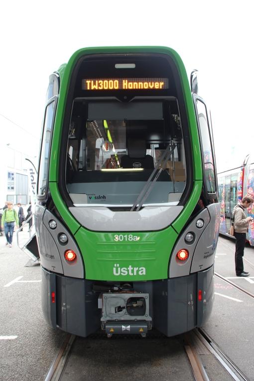 Tramwaj wysokoperonowy (Stadtbahn) Vossloh TW3000 dla Hannoweru