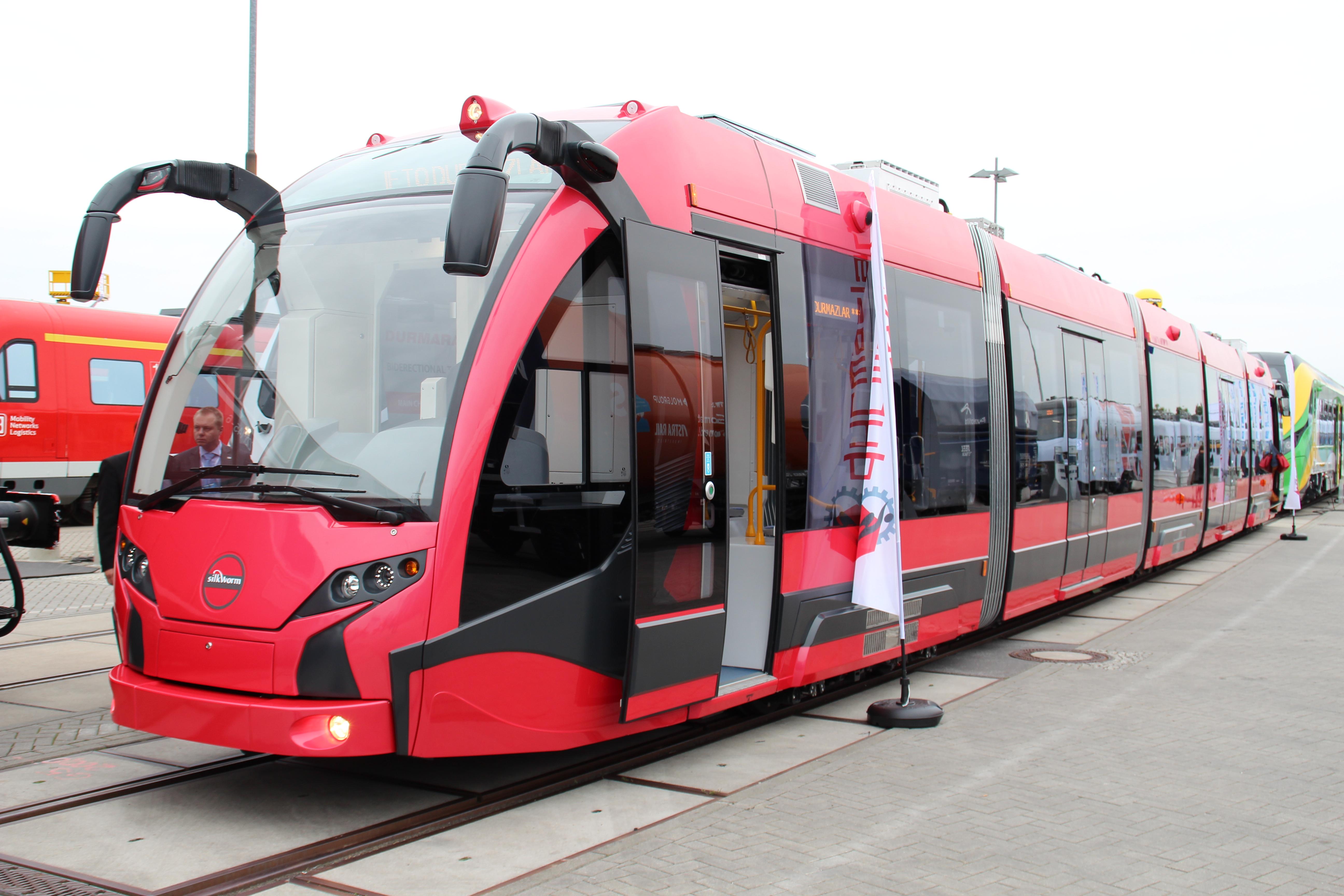 Durmazlar SilkWorm na targach InnoTrans 2014 w Berlinie