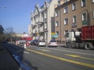 Ulica Kętrzyńskiego przy wlocie na plac Bema (8 marca 2015)
