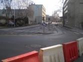 Skrzyżowanie ulic Kościuszki i Kołobrzeskiej (8 marca 2015)