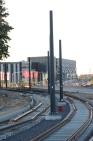Budowa linii tramwajowej przy alei Sikorskiego (15 czerwca 2015)