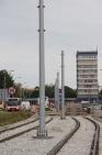 Budowa linii tramwajowej w ulicy Dworcowej (18 czerwca 2015)