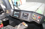 Pulpit motorniczego w Solarisie Tramino Olsztyn S111O
