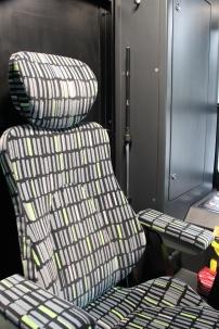 Fotel motorniczego Solarisa Tramino Olsztyn S111O