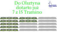 Do Olsztyna dotarło już 7 z 15 Tramino