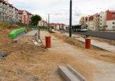 Budowa linii tramwajowej przy ulicy Witosa (12 lipca 2015) Fot. Paweł Bukowski