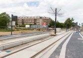 Budowa linii tramwajowej przy ulicy Płoskiego (12 lipca 2015) - przystanek Wilczyńskiego